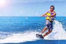 Tioman's waters tend to be flat, making it ideal for wakeboarding classes