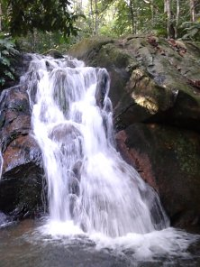 Juara Waterfall, an ideal picnic spot